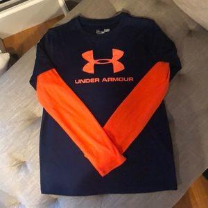 Under Armour Boys Long Sleeve Shirt